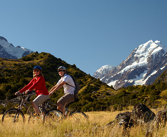 Start the Alps 2 Ocean at Aoraki/Mount Cook