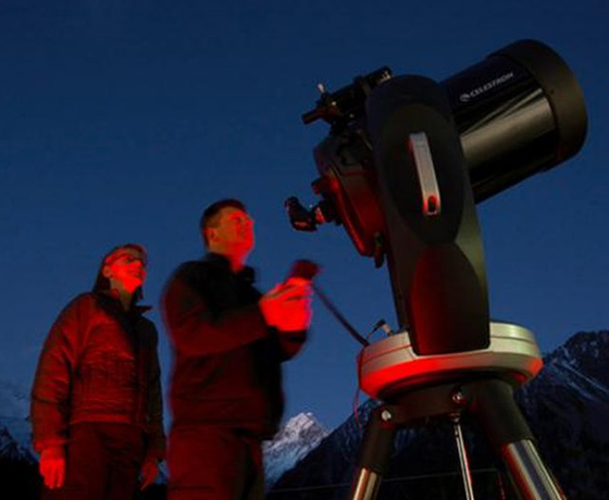 Learn first hand how to find and track the southern night sky