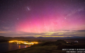 Aurora Australis in the skies over Lake Tekapo.